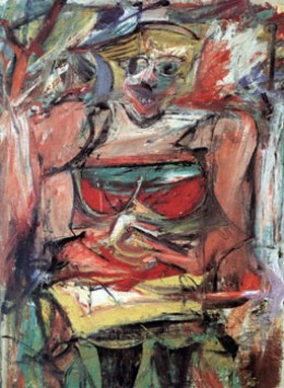 Woman V, Willem de Kooning