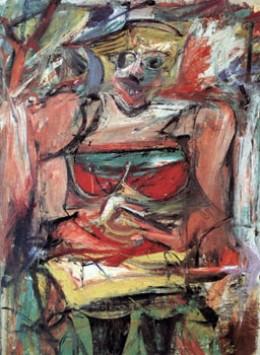 Woman V, Willem de Kooning