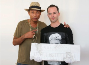 Pharrell Williams and Daniel Arsham