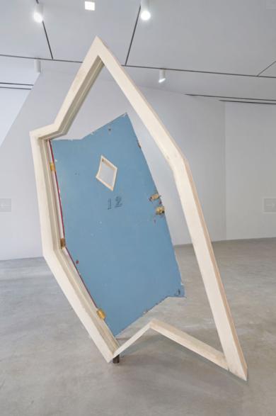 Robert Lazzarini motel door (kicked-in), 2012 With Marlborough Chelsea Gallery