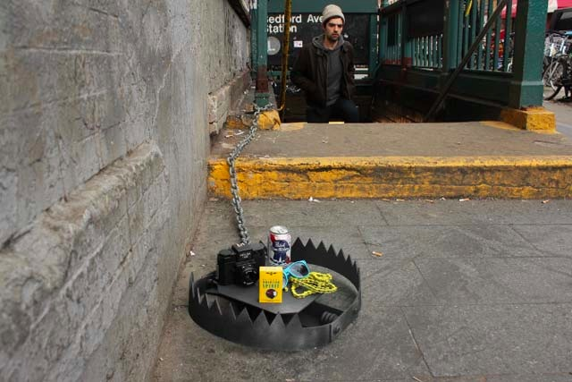Hipster Trap in New York by Jeff Greenspan and Hunter Fine