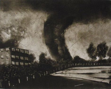 Patrick Lindhardt, Untitled 2, Monotype