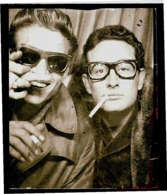 Nerds, hipsters, or Waylon Jennings and Buddy Holly?
