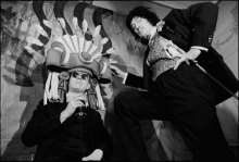 warhol and dali